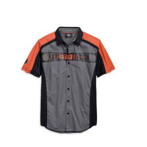 Harley-Davidson performance colorblock férfi rövid ujjú ing