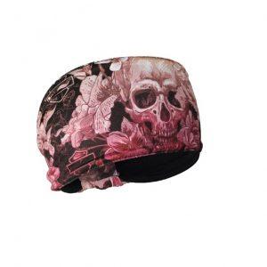 Harley-Davidson multi color skull női fejpánt